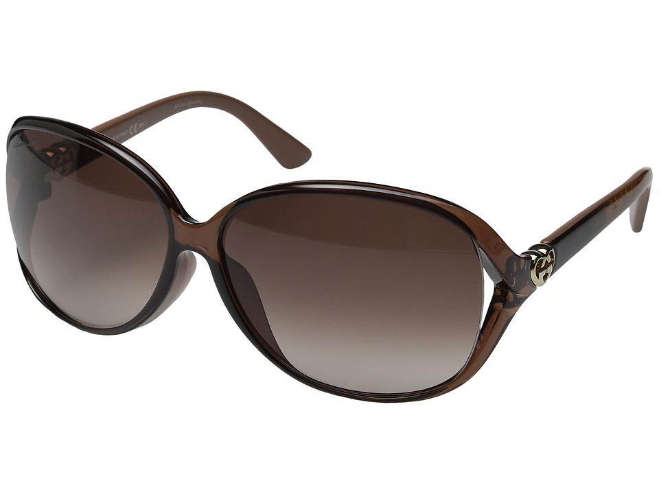 Gucci GG 3792FS Tort Brown Fashion Sunglasses