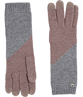 UGG - Fine Gauge Color Block Smart Gloves