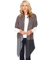 UGG - Textured Oversized Color Block Wrap/Scarf