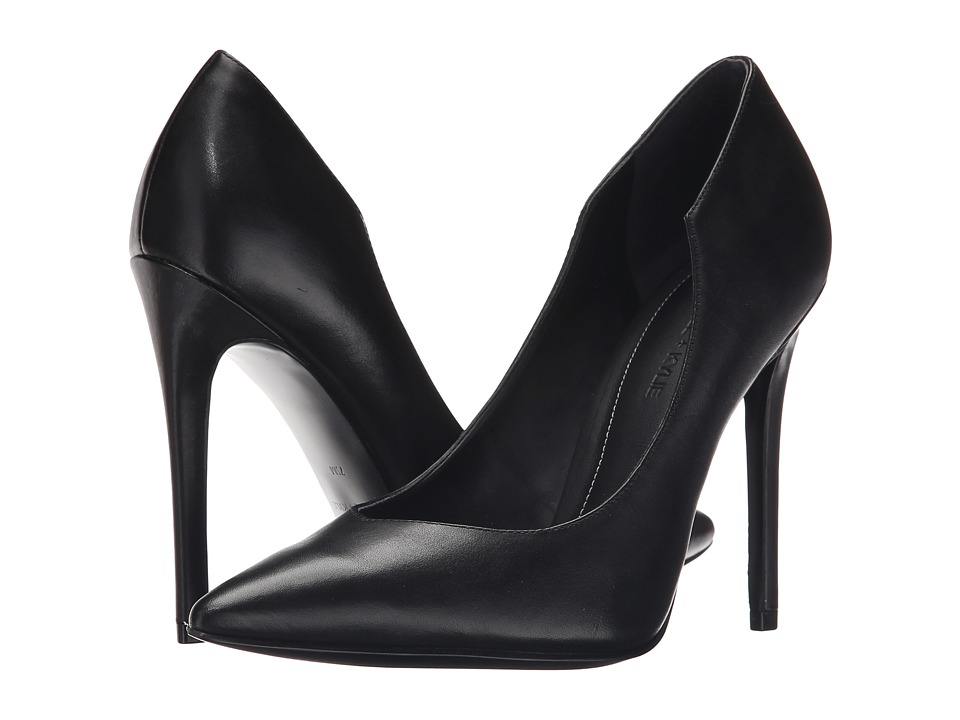 KENDALL KYLIE Abi 3 Black Calf High Heels