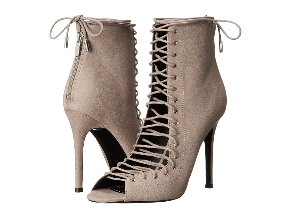 KENDALL KYLIE Ginny Taupe Suede High Heels