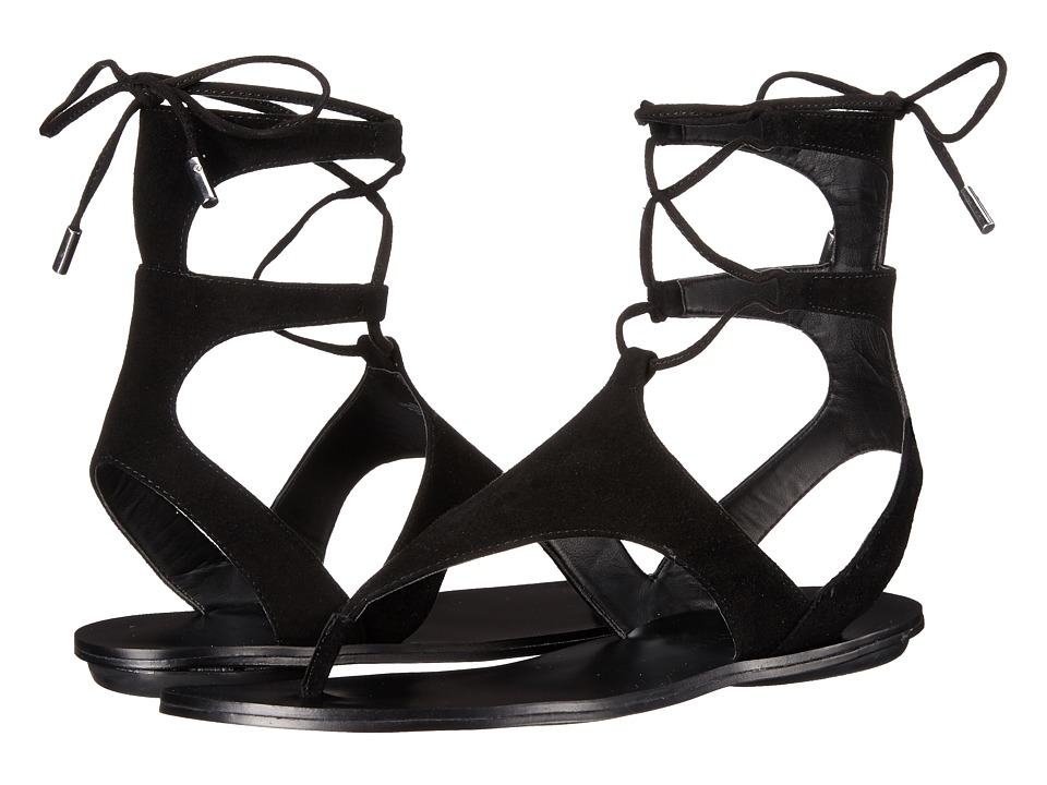 KENDALL KYLIE Faris Black/Black Womens Sandals