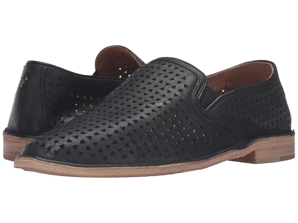 TRASK Ali Perf (Black) Women's Slip on  Shoes