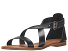 Massimo Matteo - 3 Band Sandal (Black)