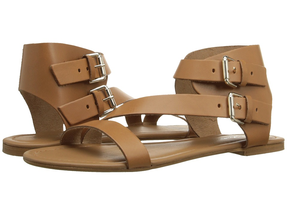 Massimo Matteo 2 Band Ankle Strap Noce Womens Sandals