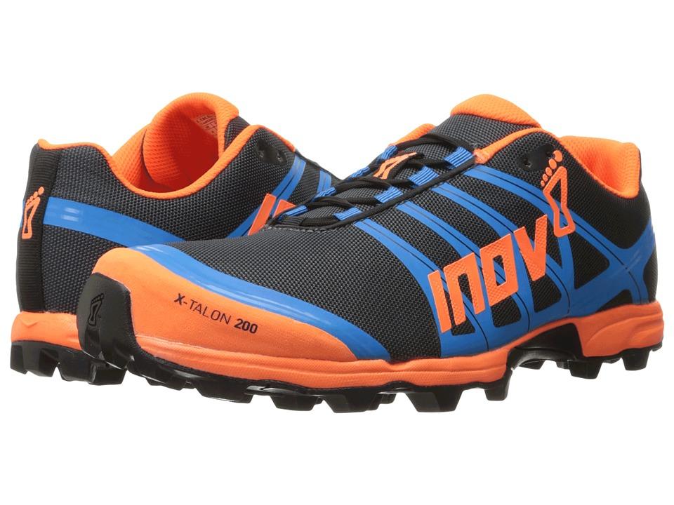 inov-8 X-Talon 200 (Grey/Orange/Blue) Running Shoes