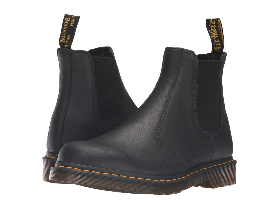 Dr. Martens 2976 Chelsea Boot (Black Carpathian) Lace-up Boots