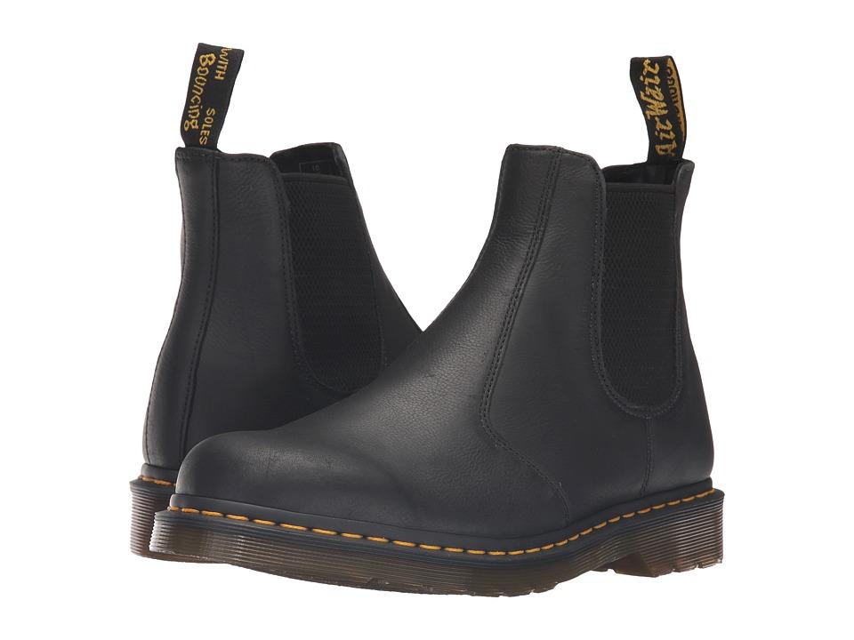 Dr. Martens 2976 Chelsea Boot (Black Carpathian) Lace-up Boots