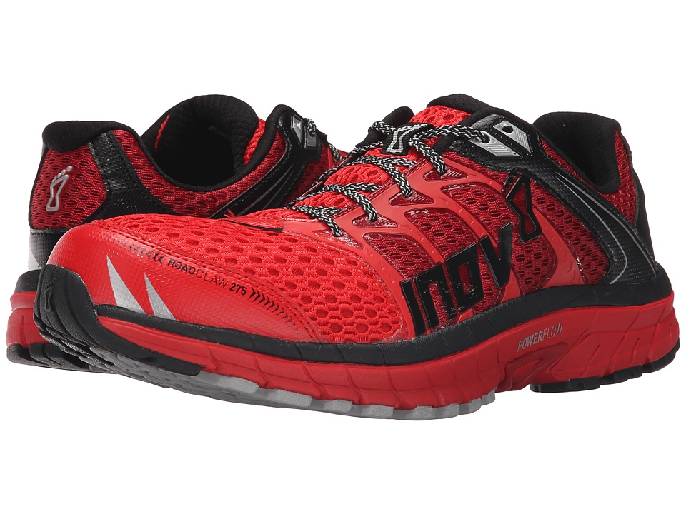 inov 8 Road Claw 275 Red/Dark Red/Black Mens Running Shoes
