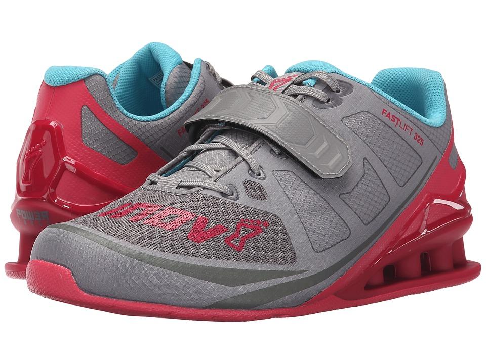 inov-8 FastLift 325 (Grey/Berry/Blue) Women