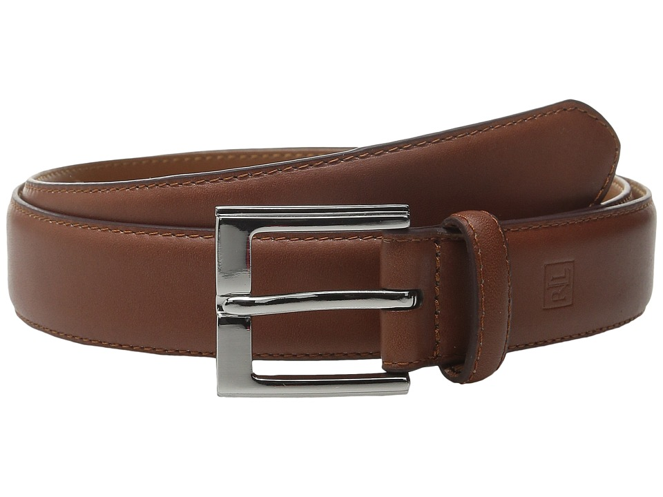 LAUREN Ralph Lauren - Morgan Dress Belt (Tan) Mens Belts