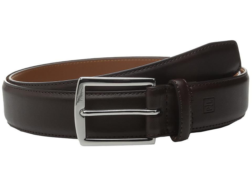 LAUREN Ralph Lauren - Harness Buckle Belt (Brown) Mens Belts