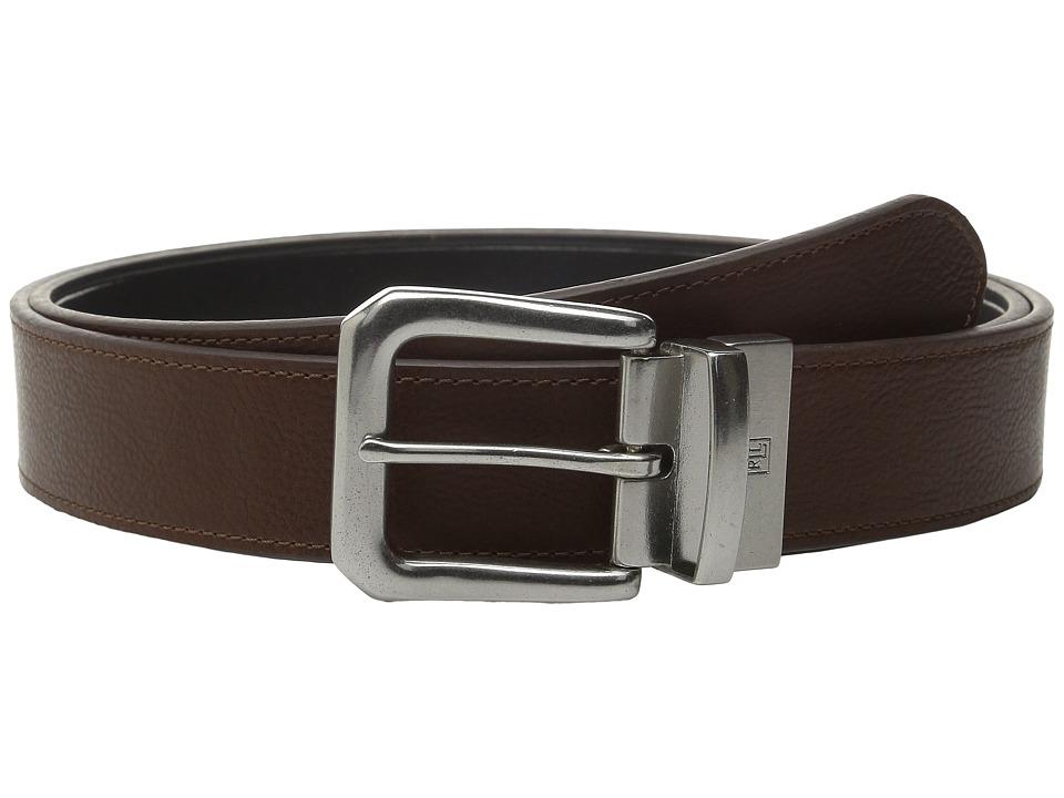 LAUREN Ralph Lauren Reversible Casual Belt Brown/Black Mens Belts