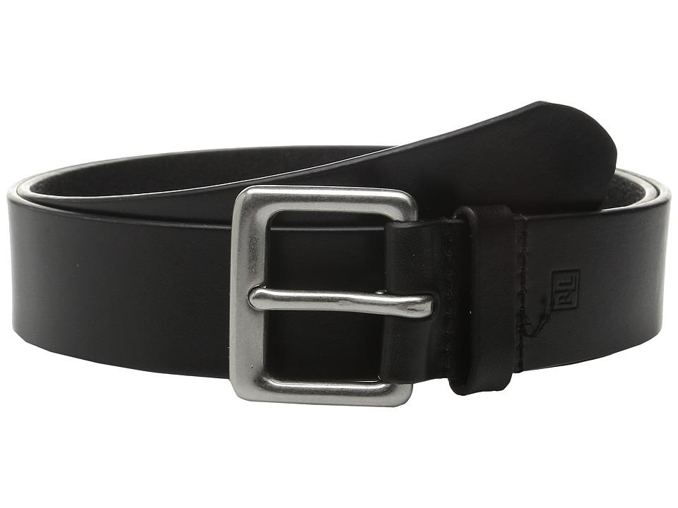 LAUREN Ralph Lauren - Casual Jean Belt (Black) Mens Belts