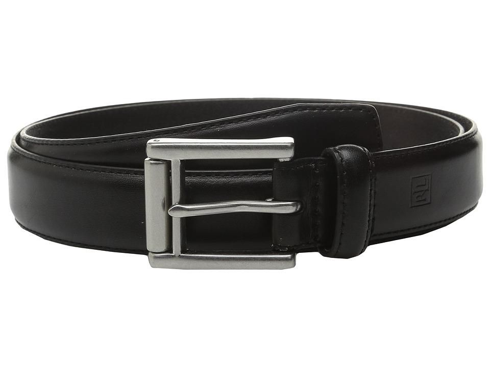 LAUREN Ralph Lauren - Rafter Bucket (Black) Mens Belts