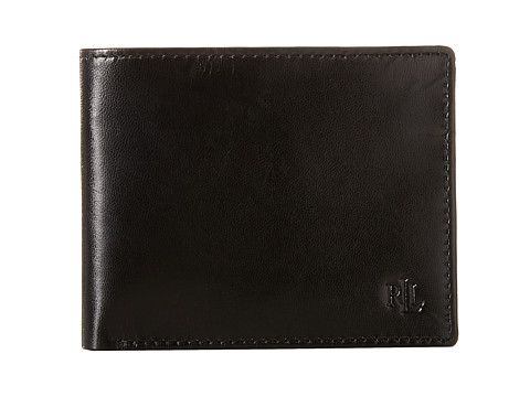 LAUREN Ralph Lauren Burnished Billfold - Black