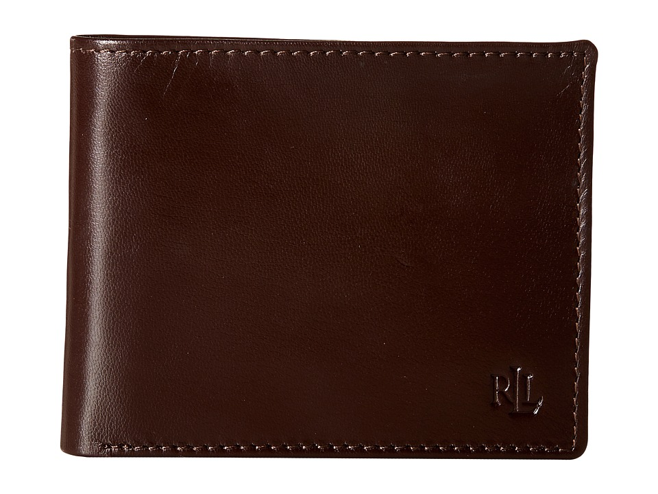 LAUREN Ralph Lauren - Burnished Billfold (Brown) Wallet Handbags