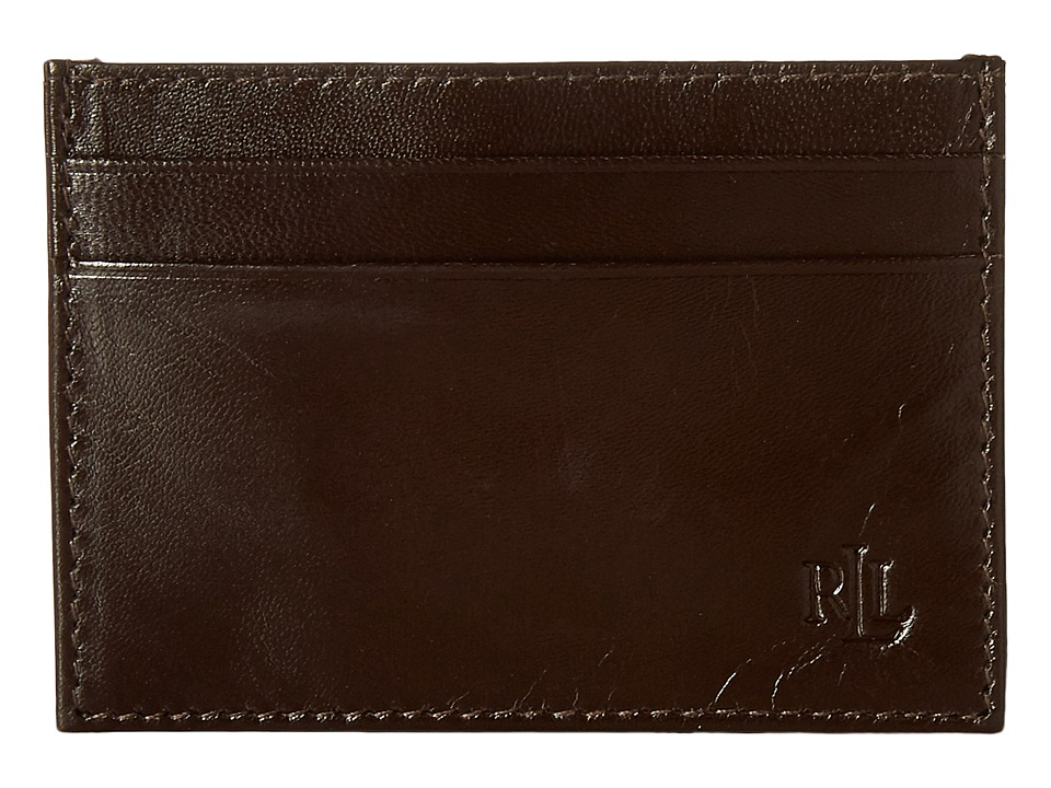 LAUREN Ralph Lauren - Burnished Card Case (Brown) Credit card Wallet