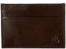 LAUREN Ralph Lauren Burnished Card Case