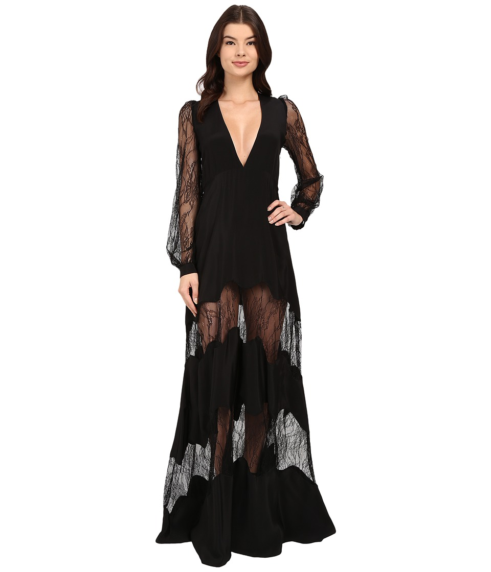Stone Cold Fox Friar Gown Black Womens Dress