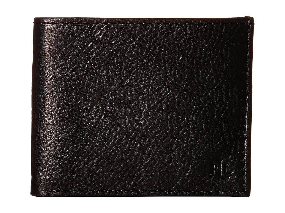 LAUREN Ralph Lauren - Oil Milled Billfold (Black) Wallet Handbags