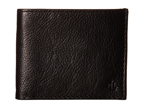 LAUREN Ralph Lauren Oil Milled Billfold - Black