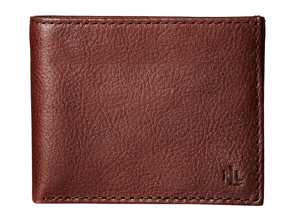 LAUREN Ralph Lauren - Oil Milled Passcase (Brown) Wallet