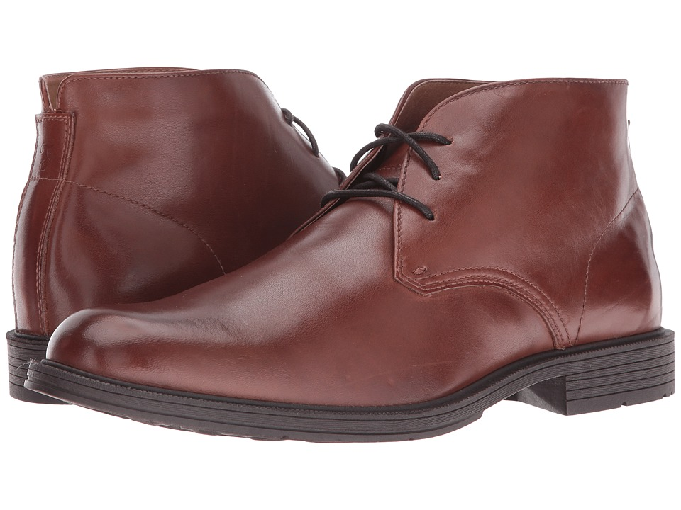 Florsheim Mogul Chukka Boot II (Cognac Smooth) Men
