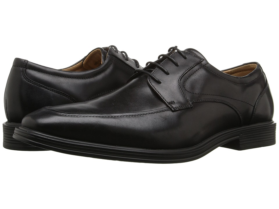 Florsheim Heights Moc Toe Oxford (Black Smooth) Men