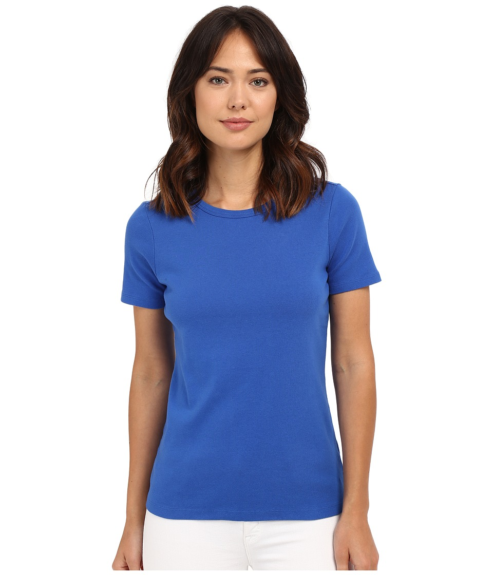 Pendleton - Short Sleeve Rib Tee (Pacific) Women