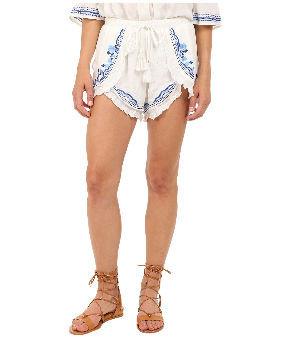 Lovers Friends Serene Shorts Ivory Womens Shorts