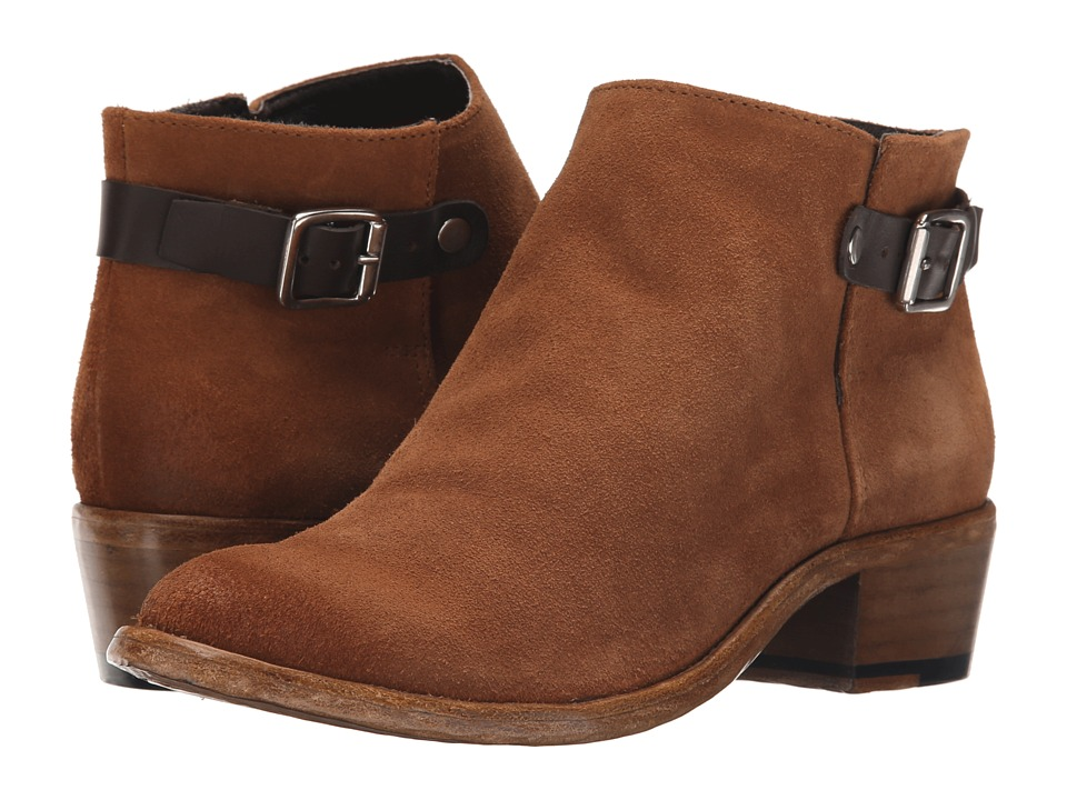 Sol Sana Blake Chestnut Suede Womens Shoes