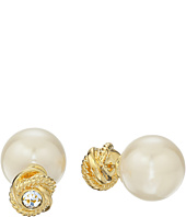 Kate Spade New York - Infinity & Beyond Pearl Reversible Studs Earrings
