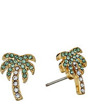 Kate Spade New York - Out of Office Palm Tree Studs Earrings