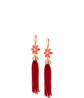 Kate Spade New York - Lovely Lillies Tassel Earrings