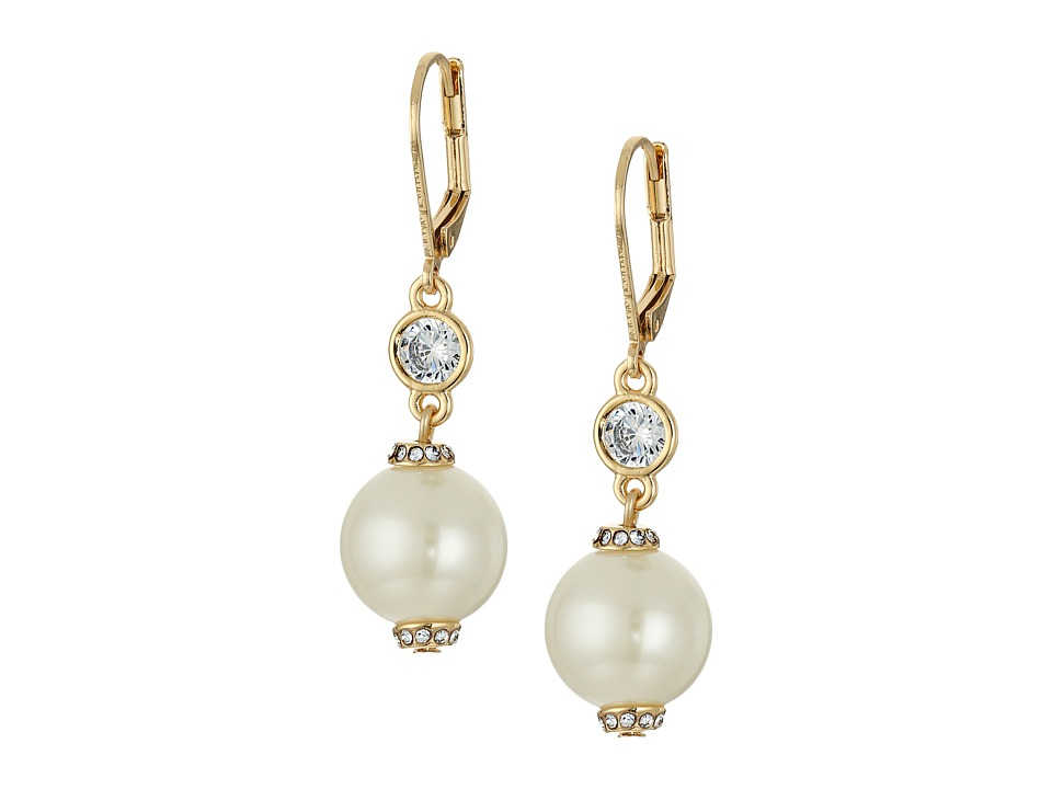Kate Spade New York - Pearls of Wisdom Leverback Earrings...