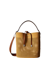 Michael Kors - Miranda Medium Shoulder Perf Suede