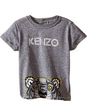 Kenzo Kids - Layette Half Tiger Head T-Shirt (Infant)