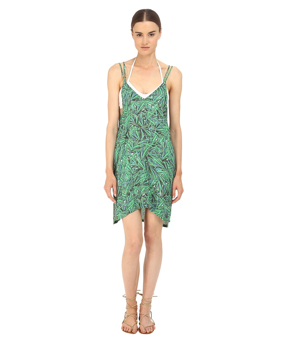 onia Audrey Cover Up Green Yucca Leaf Womens Swimwear