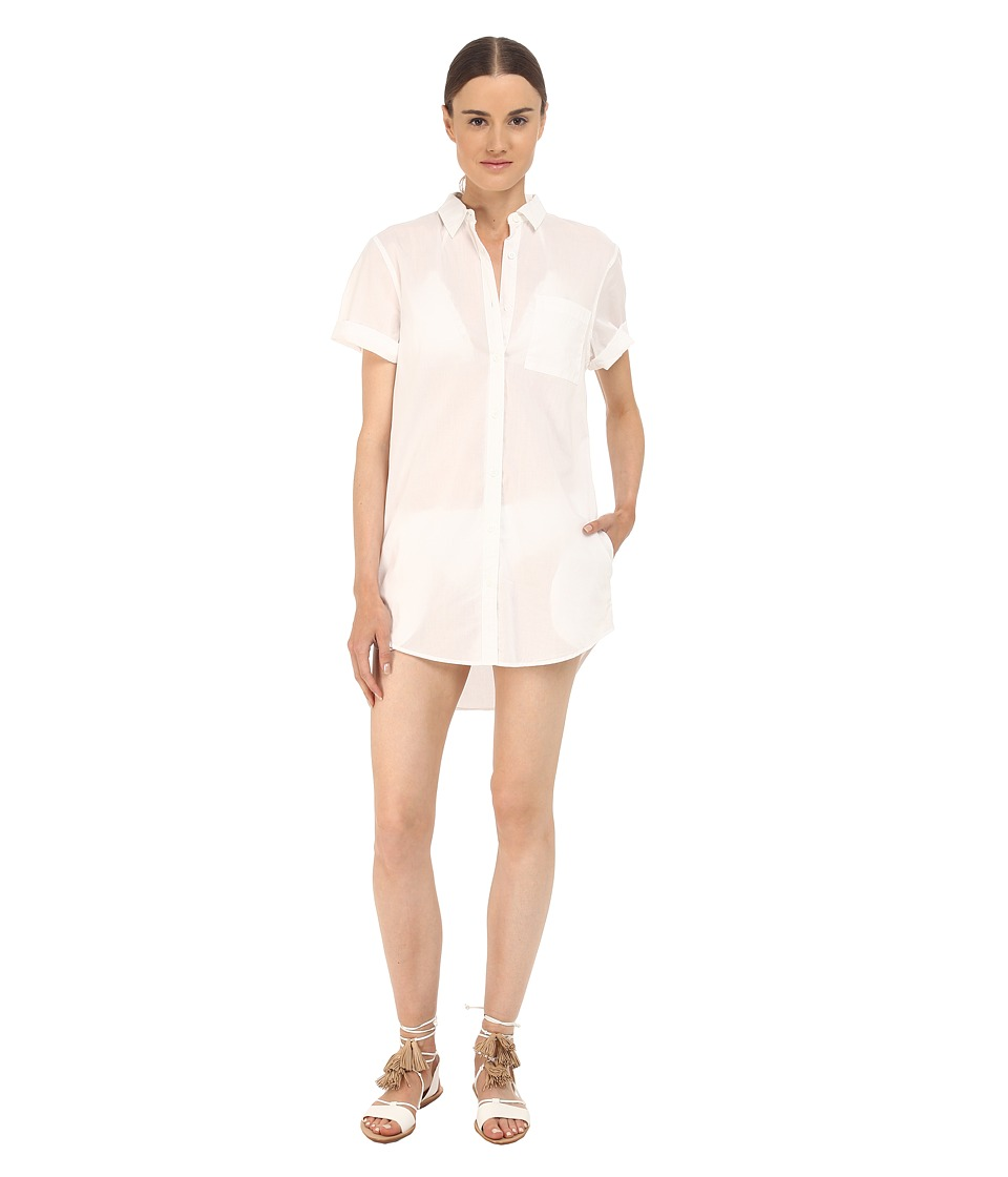 onia Jesse Cover Up White Womens Swimwear