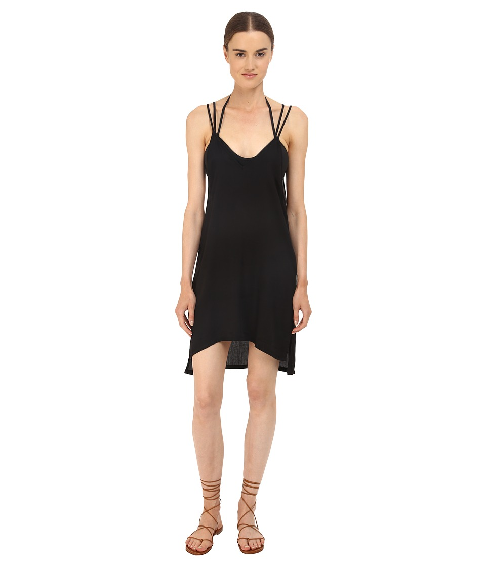 onia Audrey Cover Up Black Womens Swimwear