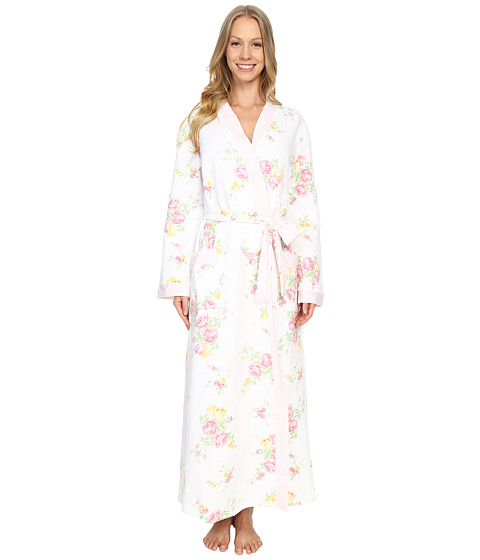 Carole Hochman Floral Quilted Robe