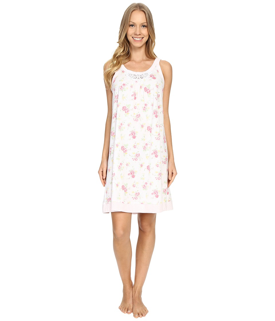 Carole Hochman Floral Chemise Rose Meadow Womens Pajama