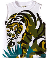 Kenzo Kids - Tiger In Grass Sleeveless T-Shirt (Toddler)