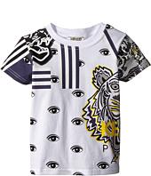 Kenzo Kids - Tiger and Eyes T-Shirt (Toddler)