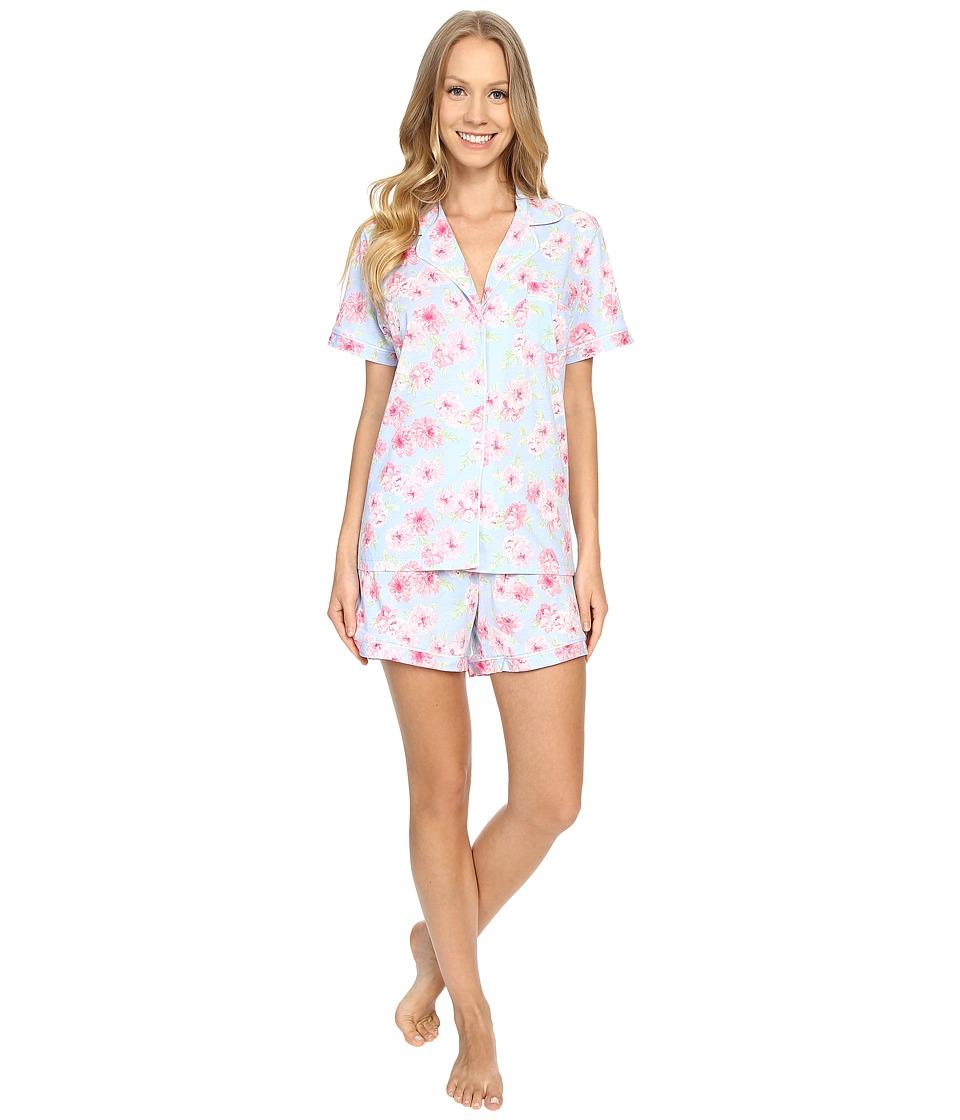 Carole Hochman Boxer Pajama Peony Womens Pajama Sets