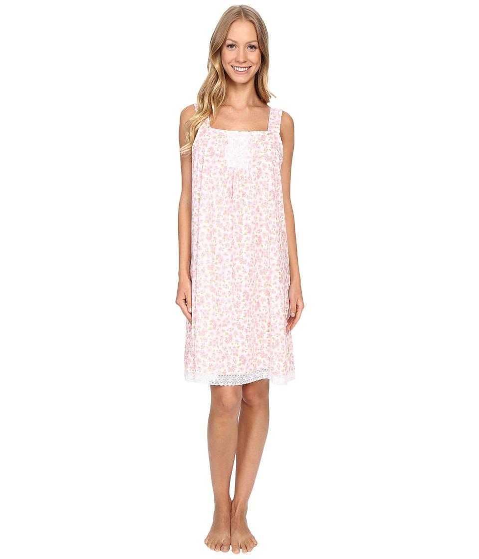 Carole Hochman Floral Cotton Chemise Petals Womens Pajama