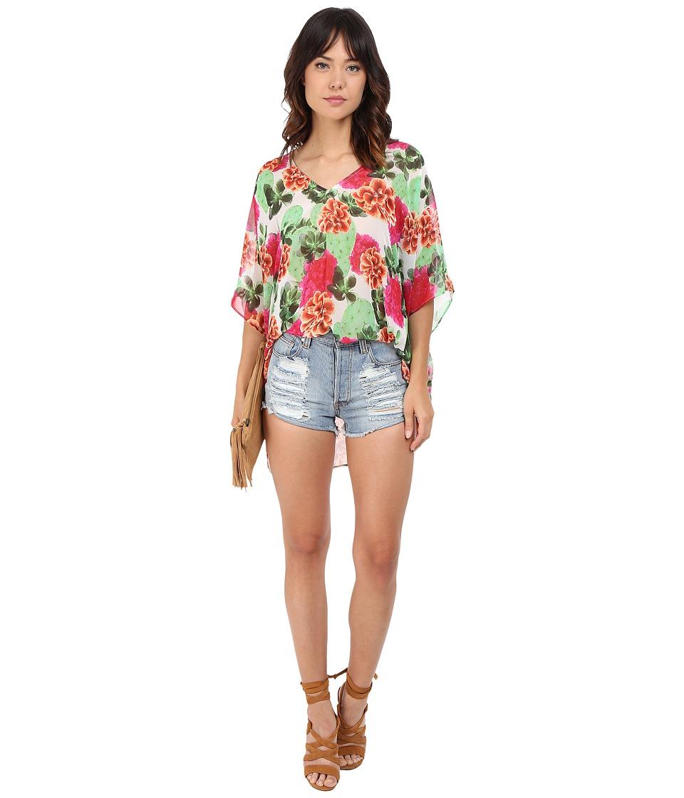 Show Me Your Mumu Peta Tunic Cactus Bloom Womens Clothing