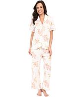 Carole Hochman - Floral Cotton Capris Pajama