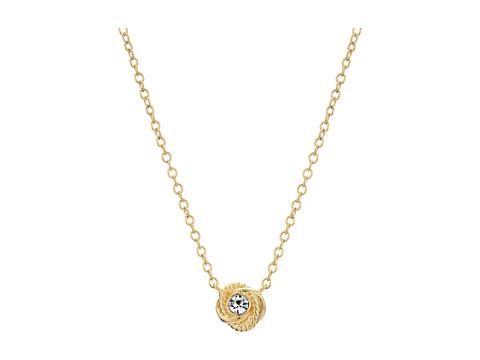 Kate Spade New York Infinity & Beyond Knot Mini Pendant Necklace